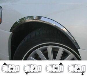 LINCOLN TOWN-CAR '98-03  Extensions d'aile 2 AV et 2 AR Chrome SET NEUF