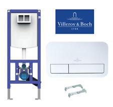 Villeroy & Boch Betätigungsplatte Viconnect, Vorwandelement Wandmontage