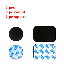 4x Replacement Mount Metal Adhesive Plate for Magnetic Phone Car Holder