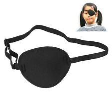 Pirate Eye Patch Mask Eyeshade Cover Plain for Kids & Adult Lazy Eye Amblyopia