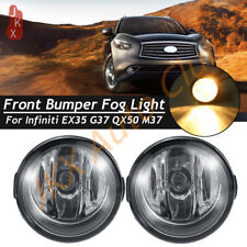 For Nissan Juke Quest Rogue Infiniti EX35 FX35 G37 Set Front Fog k Driving Light