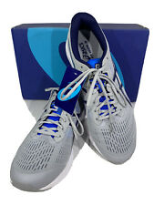 Asics GT-1000 8 Men's Size 13 Grey/Blue Athletic Lace Up Running Shoes X4-53