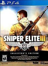 Sniper Elite III -- Collector's Edition (Sony PlayStation 4, 2014)