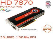  AMD HD 7870 Ref Design 2GB Ram (As 7950) Metal 4K   tout Mac Pro
