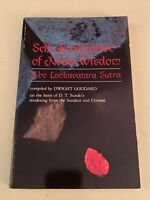 Self-Realization of Noble Wisdom : The Lankavatara Sutra by D. T. Suzuki...