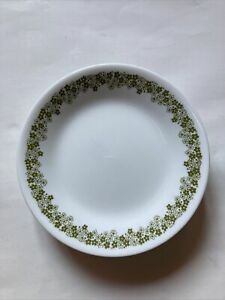 """Lot Of 8 Vintage Corelle Crazy Daisy Blossom Replacement Desert Plate 6.75"""""""