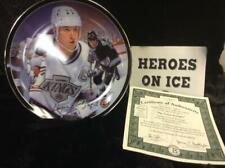 "Great Gretzky from the ""Heroes on Ice"" plate series. MINT w/COA"