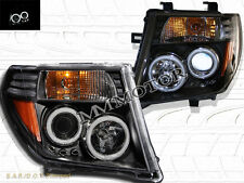 FIT FOR NISSAN FRONTIER 05-08/ PATHFINDER 05-07 DUAL CCFL HALO RIMS HEADLIGHTS