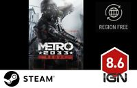Metro 2033 Redux [PC] Steam Download Key - FAST DELIVERY