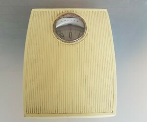 Vintage SALTER Personal Bathroom Scales Measures in Stones Made In England RARE