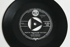 ELVIS PRESLEY - Wear My Ring Around Your Neck/Don'cha.. 1958 RCA UK, Rock & Roll