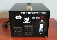Goldsource Stu 1000 Watt Step Up Down 110V 220V Voltage Converter Transformer