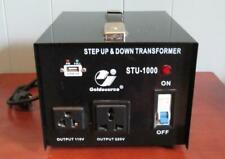 Goldsource STU 1000 Watt Step Up Down 110V 220V Voltage Converter Transformer