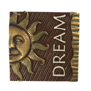 Dream Ceramic 5 inch Square Plaque Ganz