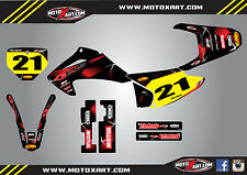 Honda CRF 150 F 2003 - 2007 Custom Graphic kit BARBED style decals / stickers