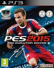 Pro Evolution Soccer 2015 (Sony PlayStation 3) Free UK Postage - Complete