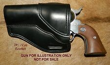 """Gary C's Avenger Left Hand OWB """"XH"""" HOLSTER Ruger New Vaquero 4-5/8"""" Leather"""
