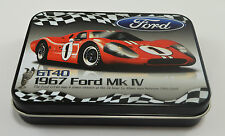 Collectable Ford GT40 Keepsake/Tobacco Tin - Gift/Present/Garage/New Le Mans