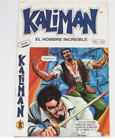 Kaliman El Hombre Increible No 102 El Asesino Invisible y Faraon Sagrado RARE