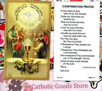 Confirmation Prayer - Paperstock Holy Card