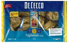 De Cecco tagliatelle n. 203 pasta da grano duro 500g 6er Pack
