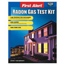 First Alert One Time Use Home Radon Gas Test Kit Detector under EPA Program