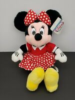 Minnie Mouse Plush- Disney Store- 16 Inch- With Tag