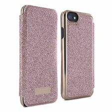 5365129cd82d Official Ted Baker Glitsie Mirror Folio Case Fits iPhone 7   6s Rose Gold