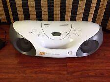 Sony CD Radio AM FM CD-R/RW Playback Boombox.