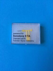 Sonotone 9TA  Diamond ST/LP & Sapphire 78 Tipped Stylus