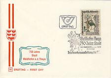Ersttagsbrief Österreich MiNr. 1658, 750 Jahre Stadt Waidhofen an der Thaya
