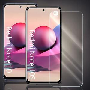 Panzer Folie für Xiaomi Redmi Note 10 / Note 10s Echt Glas Schutzfolie 9H Folie