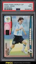 2006 Panini World Cup Germany Lionel Messi #47 PSA 9 MINT