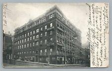 McLure's Hotel—Wheeling Wv Rare Antique Udb West Virginia 1908