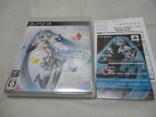W/Leaflet 7-14 Days to USA. USED PS3 Hatsune Miku. Project Diva F 2nd Japanese