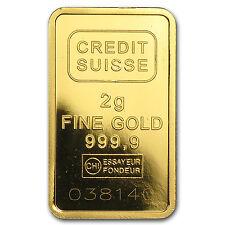 2 gram Gold Bar - Secondary Market - SKU #45506