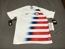 (Sz L) Nike Dri-Fit Usa Home Soccer Jersey (893902 100)