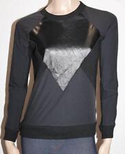 TOPSHOP Designer Black Long Sleeve Pullover Jumper Top Size XXS BNWT #SZ117