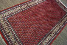 46-Wunderschöner Original Perischer Sarough Mir,219x127cm,Carpet,Teppich,Tappeto