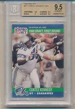 1990 Pro Set Cortez Kennedy (Rookie Card) (HOF) (#671) BGS9.5 BGS