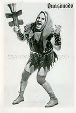 Quasimodo 60s Vintage Photo Genuine Wrestling Figure Wrestling Lucha Beefcake
