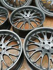 22INCH BLACK ALLOY WHEELS❤5X120 PCD fit VW AMAROK❤BMW X5❤After Market 22x9.5❤