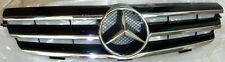 Mercedes-Benz Brand OEM CLK Class Front Black Grille With Chrome Slats W209 NEW