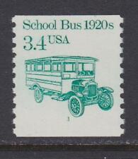 US # 2123 School Bus Plate No 1 Coil , PNC # 1 , VF OG NH - I Combine S/H