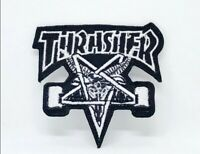 New Thrasher badge logo Embroidered Iron Sew on Patch j111