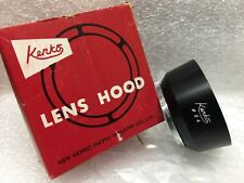 Kenko 34mm Clip-on Metal Lens Hood, Anti-Reflective,Made in Japan, NEW old STOCK