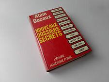 Nouveaux Dossiers Secrets  Alain Decaux 1967  Livre