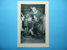 1944/64 BEEHIVE CORN SYRUP GROUP 2 HOCKEY PHOTO JOHNNY BOWER SHARP++ BEE HIVE