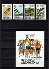 Briefmarken Olympische Spiele 1988 grenada Grenadinen postfrisch