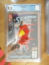 superman 75 cgc 9.2
